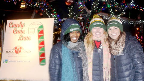 Candy Cane Lane has already raised more than $70,000 this season. The FOX Sports Girls were happy to support a great cause.