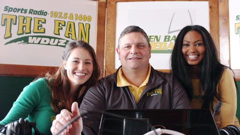 The FOX Sports Wisconsin Girls helped 107.5 the Fan launch their Hot Seat promotion & talked all things Packers on Green Bay Game Day with Bill Rabeor.