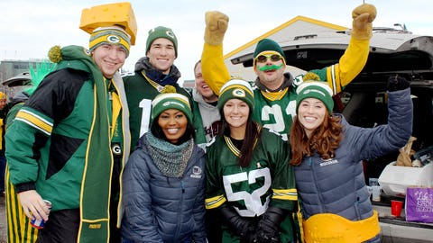 There's no doubt about it – Packers fans are the best in the NFL.