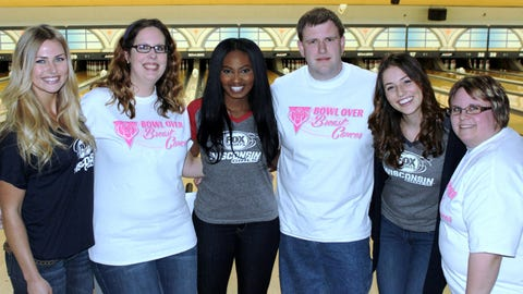 The FOX Sports Wisconsin team is ready to hit the lanes.