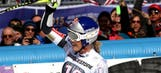 Lindsey Vonn wins super-G, regains series lead in event with 1 to go