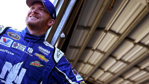 Dale Earnhardt Jr. wins a NASCAR Sprint Cup title