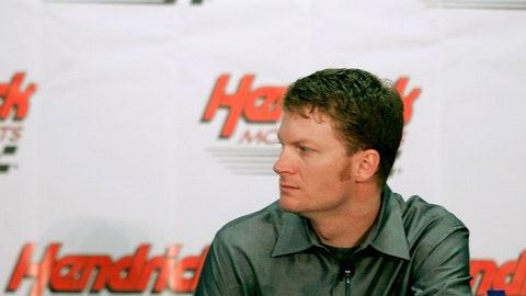 Dale Jr. joins Hendrick Motorsports