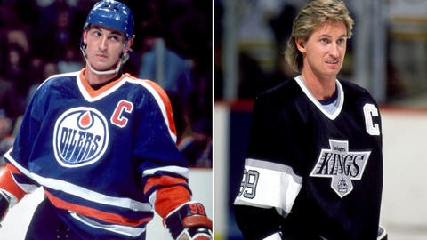 Wayne Gretzky and the Edmonton Oilers