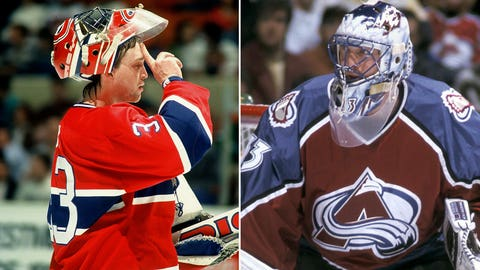 Patrick Roy and the Montreal Canadiens