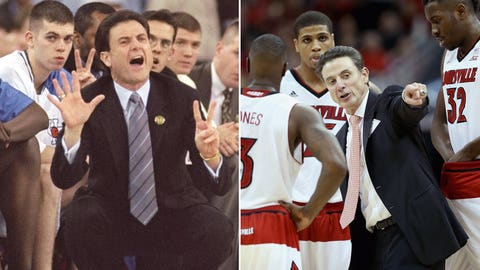 Rick Pitino and the Kentucky Wildcats