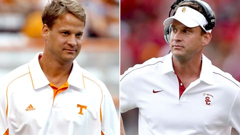 Lane Kiffin and the Tennessee Volunteers