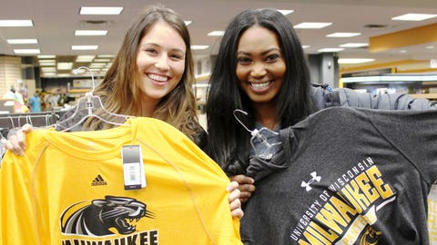 A visit to campus wouldn't be complete without checking out some of the great gear!