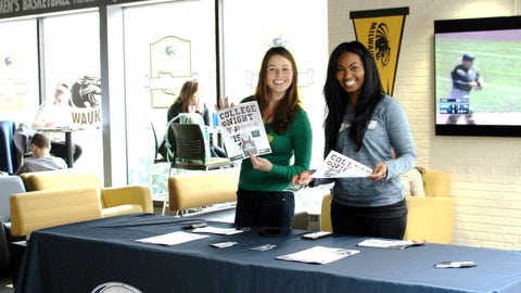 Bishara & Sage share all the details on College Night at UWM.