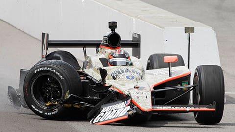 JR Hildebrand, 2011 Indy 500