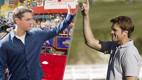 Tom Brady and Matt Damon