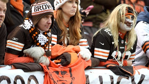 Despite it all, Cleveland fans remain loyal, devoted and ever-hopeful