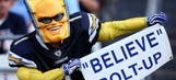 'Boltman' appears at San Diego stadium hearing, earns all your respect