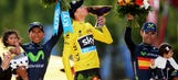 Froome cruises into Paris to win his second Tour de France