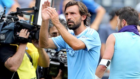 NYCFC started Pirlo on the bench again, and they looked better for it