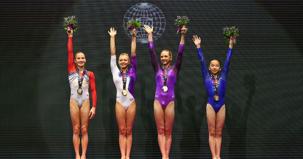 Odd Four Way Tie For Gold At World Gymnastics