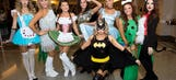 Trick or treat? Sports world shows off costumes for Halloween