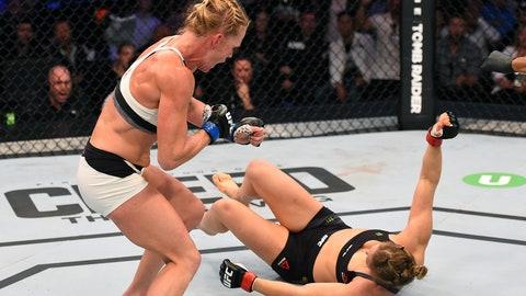 11/14 headline: Holly Holm shocks the world with head-kick KO of Ronda Rousey