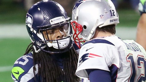 1/21 headline: Sherman says Tom Brady isn't the clean-cut hero everyone thinks he is