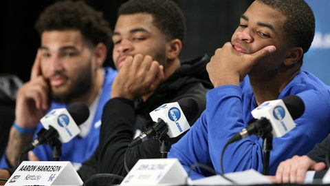 4/4 headline: Andrew Harrison during Frank Kaminsky question: 'F--- that n----'