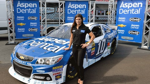 7/21 headline: Bikini pose: Danica stands on elbows, again -- this time on a boat