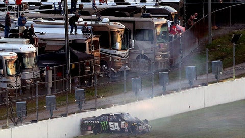 2/21 headline: Kyle Busch hurt in Xfinity crash; misses Daytona 500