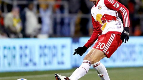 SOCCER: Matt Miazga, New York Red Bulls -- age 20