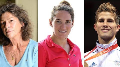 Florence Arthaud, Camille Muffat & Alexis Vastine