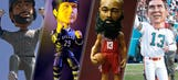 Sports world shakes it up for National Bobblehead Day