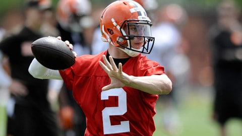 Browns QB Johnny Manziel, $2.062 million