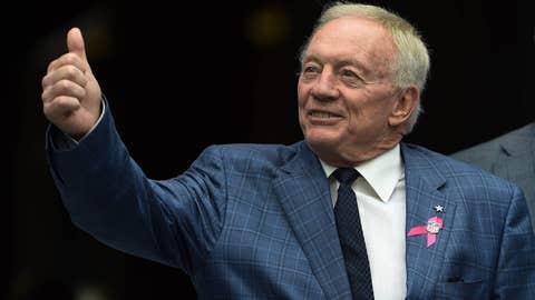 Arkansas: Jerry Jones (Dallas Cowboys owner)
