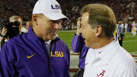 Alabama at LSU: Saturday, November 5th