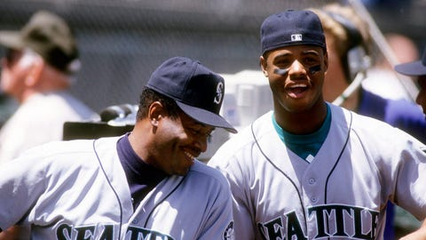Ken Griffey Sr. and Ken Griffey Jr.