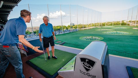 Ben Crenshaw at Topgolf
