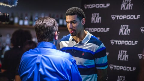 Danny Green at Topgolf