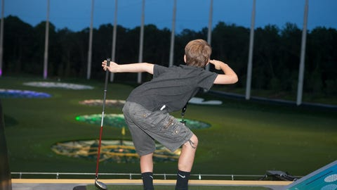 MattyBRaps at Topgolf