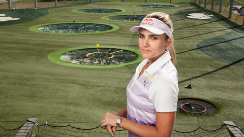 Lexi Thompson at Topgolf