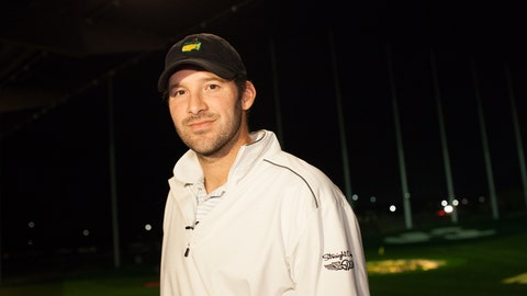 Tony Romo at Topgolf