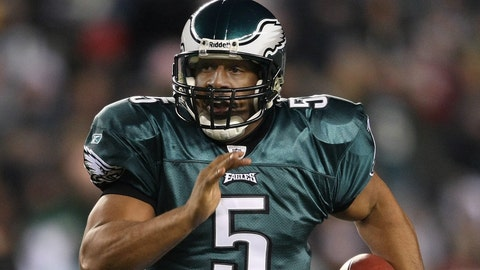 Donovan McNabb (second pick, 1999, Philadelphia Eagles)