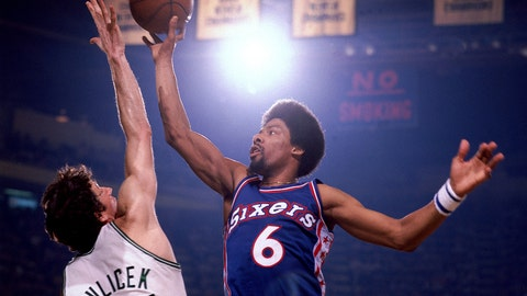 Julius Erving: 11-time NBA All-Star, 5-time ABA All-Star