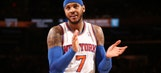 Carmelo Anthony on 76ers: 'We can't overlook them at all'