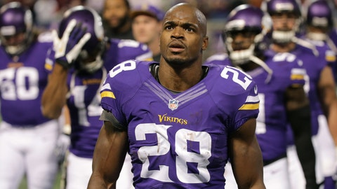 "Adrian Peterson, ""I'm the Man,"" Aloe Blacc"