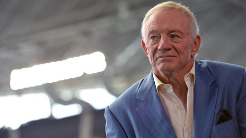 Jerry Jones - Owner, President and General Manager, Dallas Cowboys