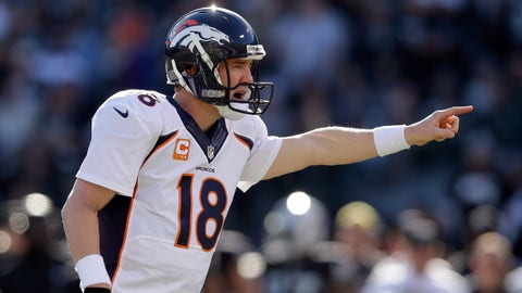 Broncos QB Peyton Manning, $19.2 million