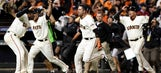 Giants fan who caught Ishikawa's homer gives it back, gets WS tickets