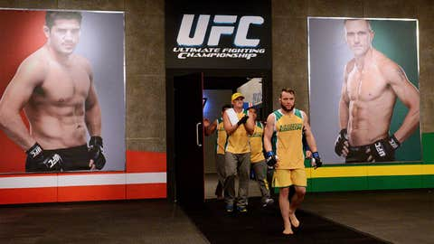 TUF Nations: Team Canada v Team Australia