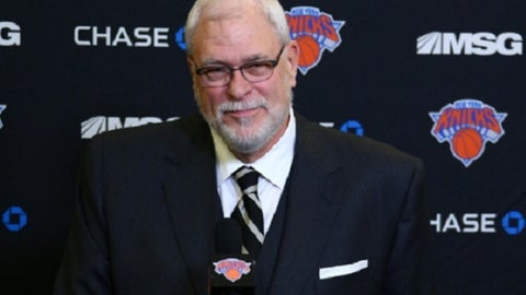 Phil Jackson, president, New York Knicks