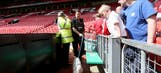 Police evacuate Manchester stadium, dismantle fake bomb