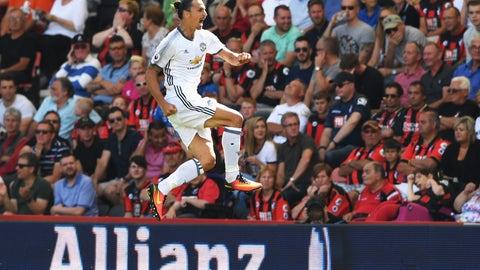 Zlatan Ibrahimovic will break Man United's single-season goals record