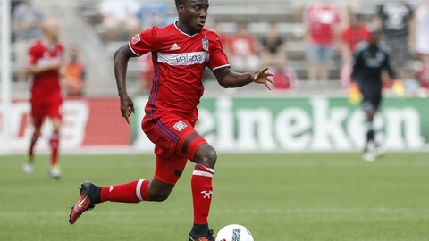 Chicago Fire - David Accam: $821,000